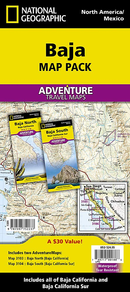 Adventure Maps: Baja California Map Pack Bundle
