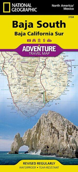 Adventure Maps: Baja California South