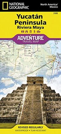 Adventure Maps: Northern Yucatan/ Maya Sites