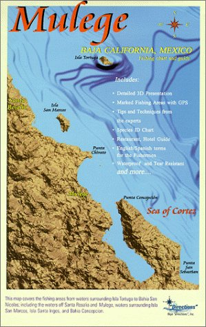 Baja Maps: Mulege Fishing