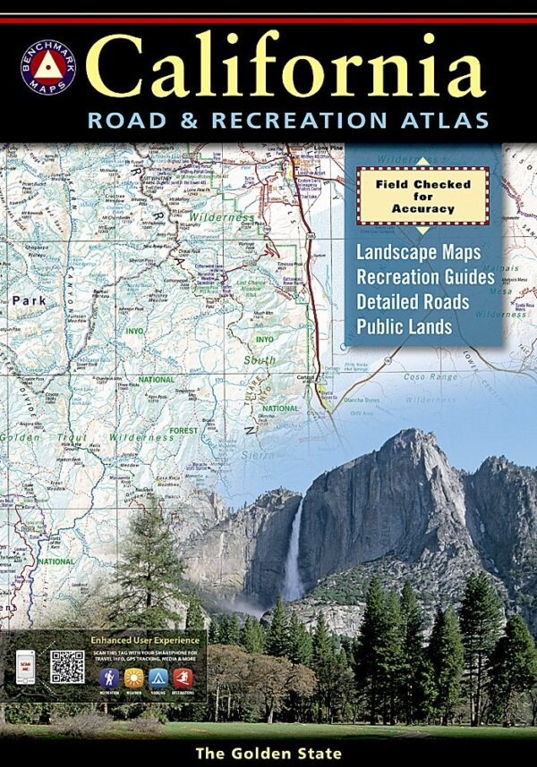 Benchmark California Road & Recreation Atlas 10 Edition