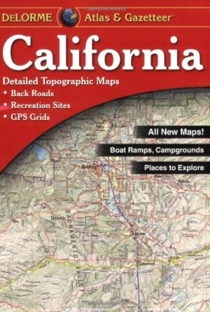 Delorme California Atlas & Gazetteer