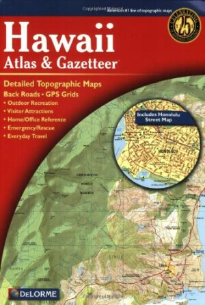 Delorme Hawaii Atlas and Gazetteer