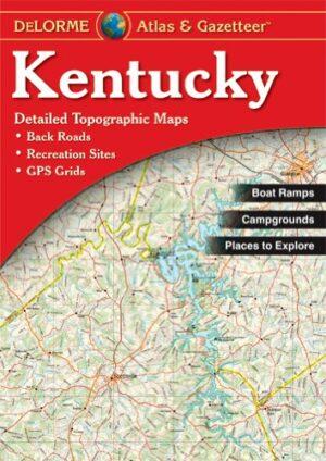 Delorme Kentucky Atlas and Gazeteer