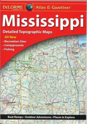 Delorme Mississippi Atlas and Gazetteer