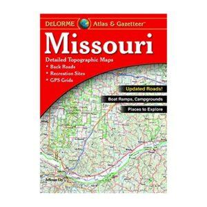 Delorme Missouri Atlas and Gazetteer