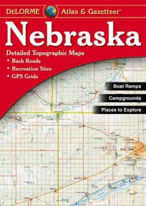 Delorme Nebraska Atlas and Gazetteer