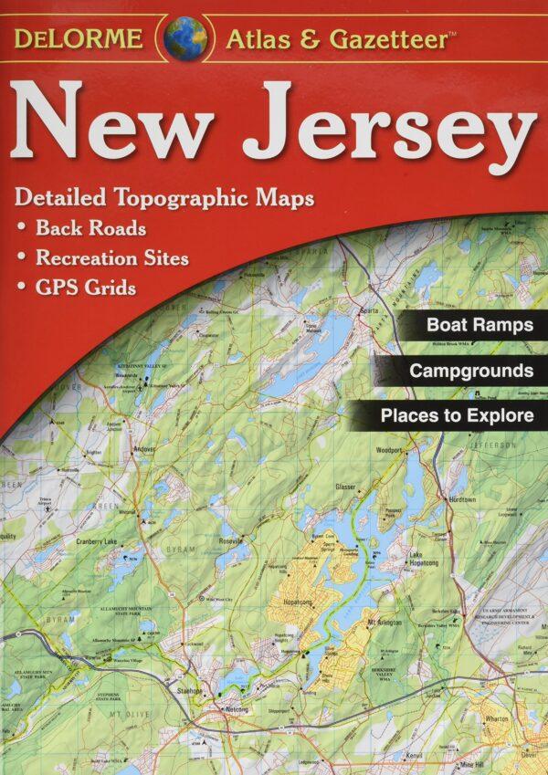 Delorme New Jersey Atlas and Gazetteer