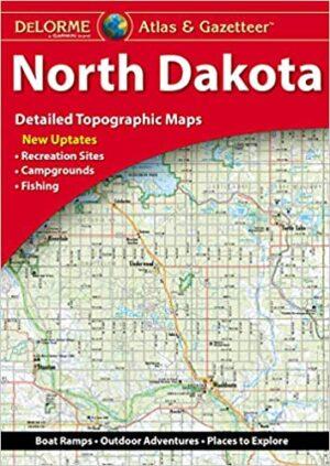 Delorme North Dakota Atlas and Gazetteer