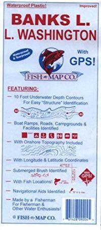 Fish-n-map Freshwater: Washington