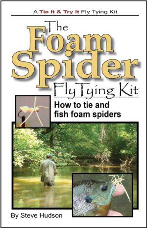 Tie It & Try It Fly Tying Book/kit: Foam Spider