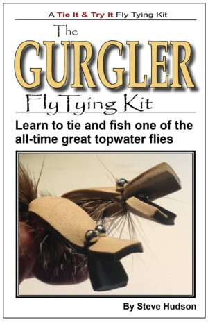 Tie It & Try It Fly Tying Book/kit: Gurgler
