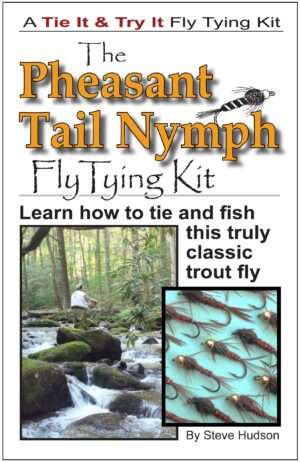 Tie It & Try It Fly Tying Book/kit: Pheasant Tail Nymph