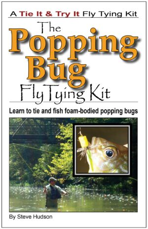 Tie It & Try It Fly Tying Book/kit: Popping Bug