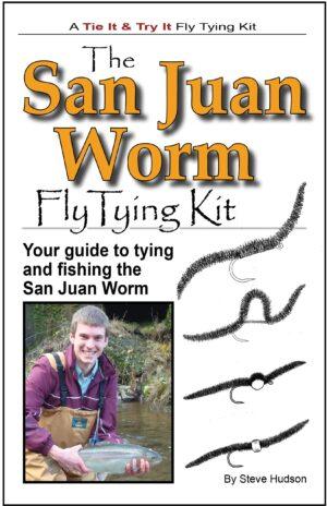 Tie It & Try It Fly Tying Book/kit: San Juan Worm