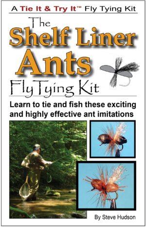 Tie It & Try It Fly Tying Book/kit: Shelf Liner Ants