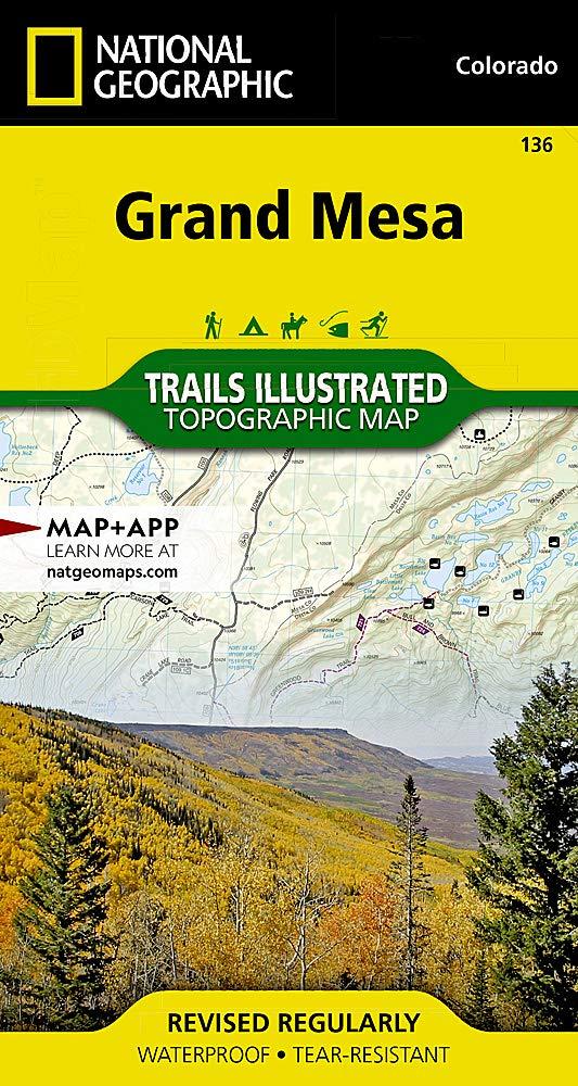 Trails Illustrated Maps: Colorado - Grand Mesa