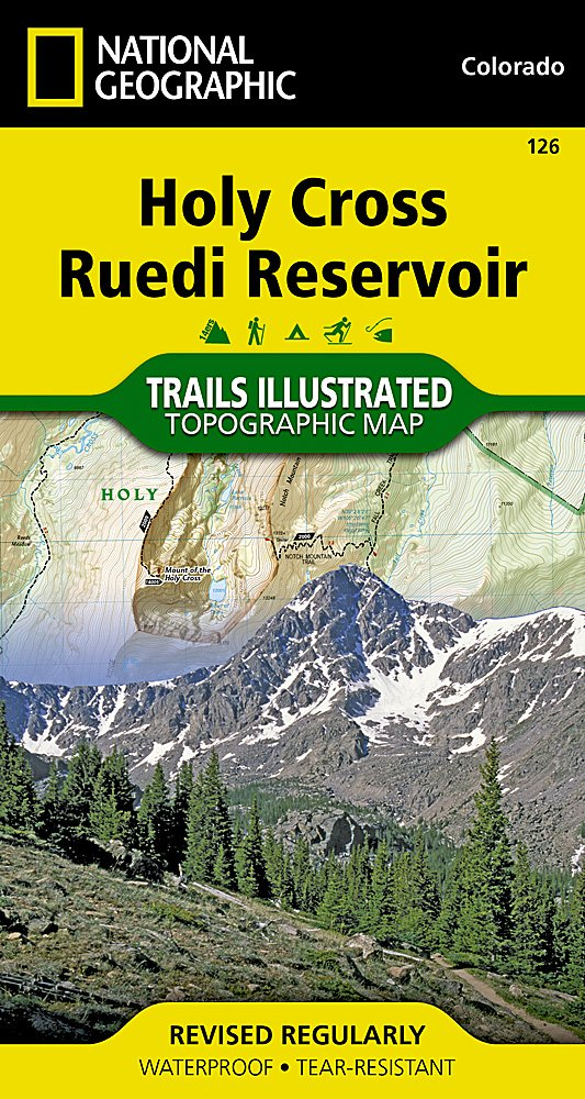 Trails Illustrated Maps: Colorado - Holy Cross/reudi Reservoir