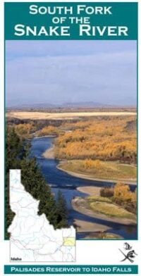 Wilderness Adventure Press Maps: Idaho South Fork Snake River