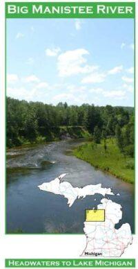 Wilderness Adventure Press Maps: Michigan Big Manistee River