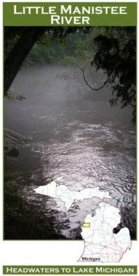 Wilderness Adventure Press Maps: Michigan Little Manistee River