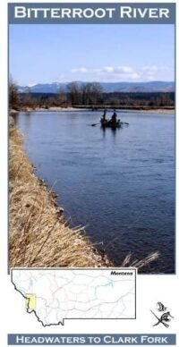 Wilderness Adventure Press Maps: Montana Bitterroot River