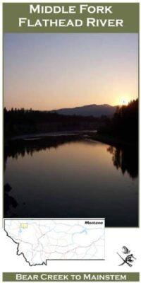Wilderness Adventure Press Maps: Montana Middle Fork Flathead River