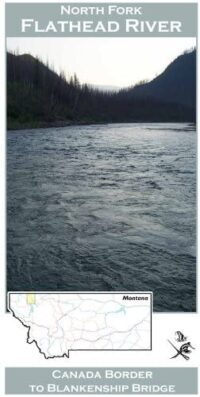 Wilderness Adventure Press Maps: Montana North Fork Flathead River