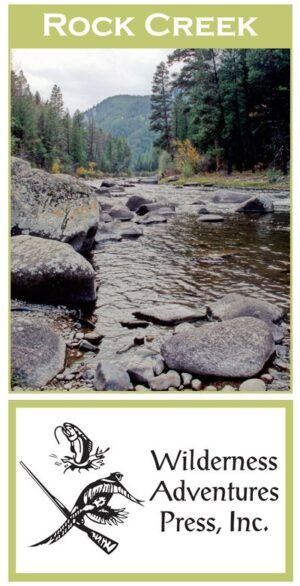 Wilderness Adventure Press Maps: Montana Rock Creek