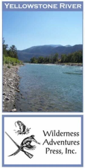 Wilderness Adventure Press Maps: Montana Yellowstone River