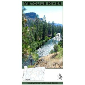Wilderness Adventure Press Maps: Oregon Metolius River