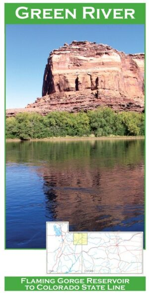 Wilderness Adventure Press Maps: Utah Green River