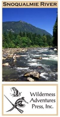 Wilderness Adventure Press Maps: Washington Snoqualmie River