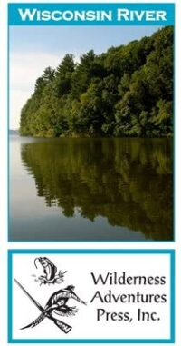 Wilderness Adventure Press Maps: Wisconsin Wisconsin River