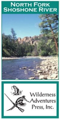 Wilderness Adventure Press Maps: Wyoming North Fork Shoshone River