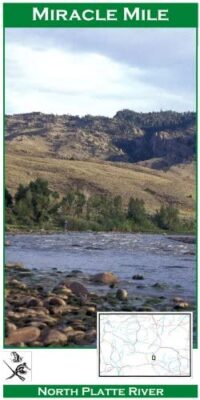 Wilderness Adventure Press Maps: Wyoming North Platte Miracle Mile River