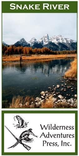 Wilderness Adventure Press Maps: Wyoming Snake River