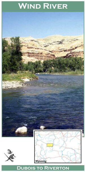Wilderness Adventure Press Maps: Wyoming Upper Wind River