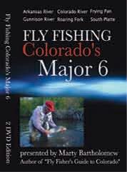 Fly Fishing Colorado's Major 6 Plus Bonus Dvd