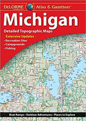 Delorme Michigan Atlas and Gazetteer